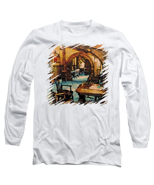 Hobbit Writing Nook T-shirt Long Sleeve T-Shirt