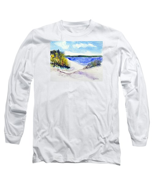 Hole In The Cove Long Sleeve T-Shirt by Joan Hartenstein