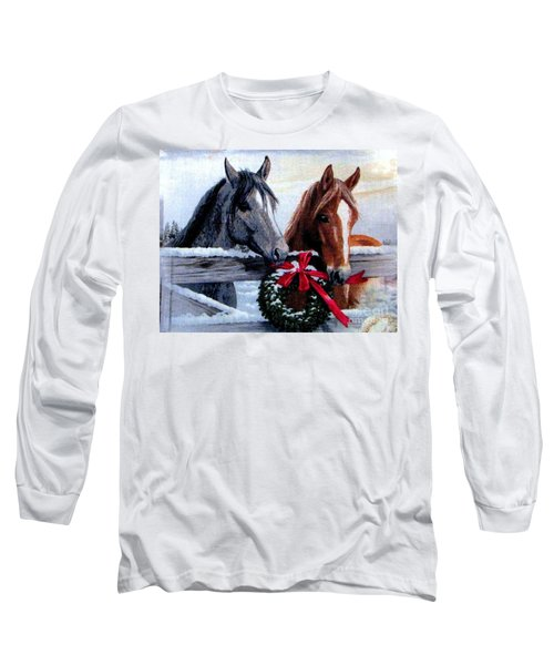 Holiday Barnyard Long Sleeve T-Shirt