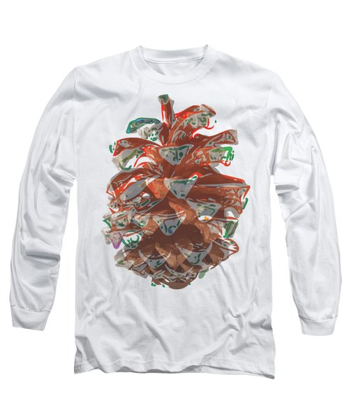 Holiday Red Cone Long Sleeve T-Shirt