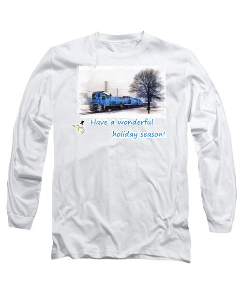 Holiday Train Long Sleeve T-Shirt