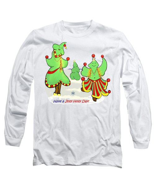 Holly Day Shirt For Children Long Sleeve T-Shirt