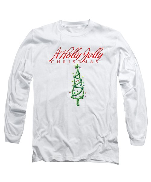 Holly Jolly Christmas Long Sleeve T-Shirt