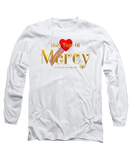 Holy Year Of Mercy Long Sleeve T-Shirt by Rose Santuci-Sofranko