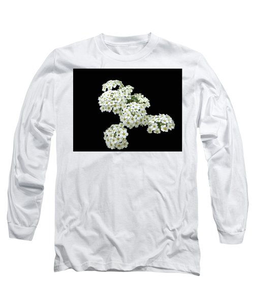 Home Grown White Flowers  Long Sleeve T-Shirt