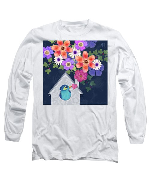 Home Is Where You Bloom Long Sleeve T-Shirt