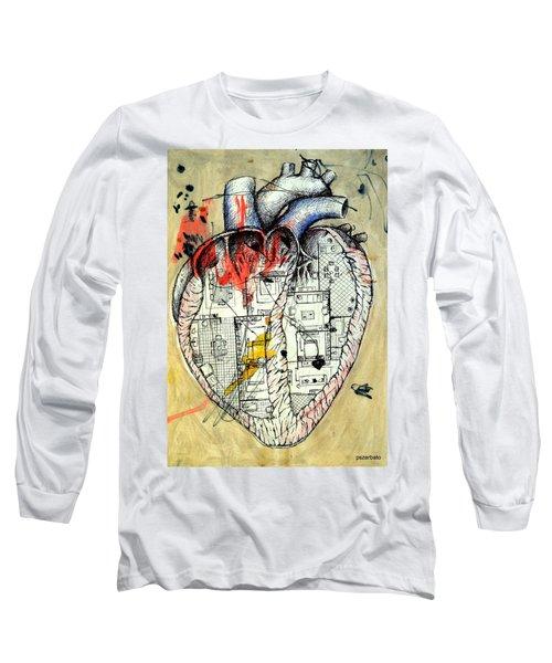 Home Long Sleeve T-Shirt by Paulo Zerbato