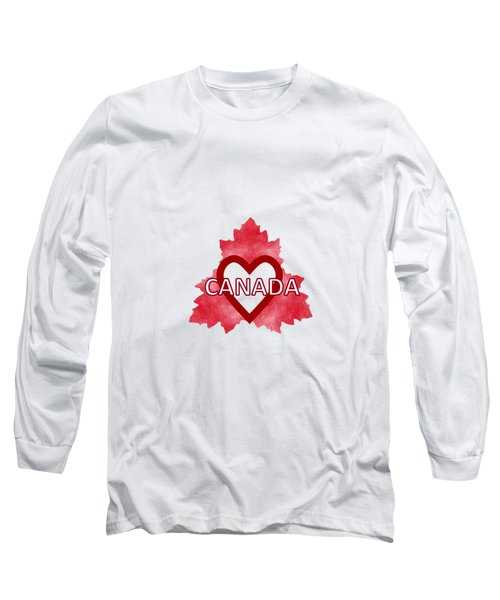 Home Sweet Canada Long Sleeve T-Shirt