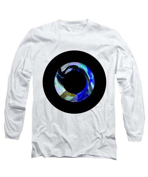 Hood Long Sleeve T-Shirt by Thibault Toussaint