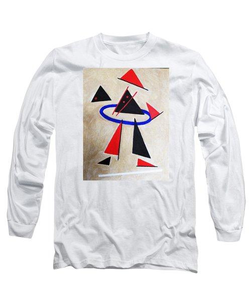 Hoola Hoop Long Sleeve T-Shirt by Tamara Savchenko