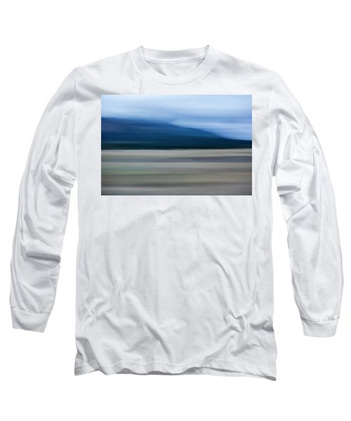 Long Sleeve T-Shirt featuring the mixed media Hooper by Shara Weber