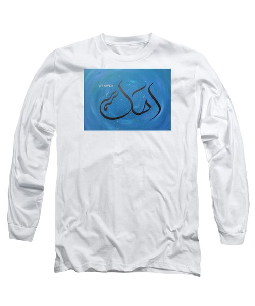 Hope In Blue Long Sleeve T-Shirt