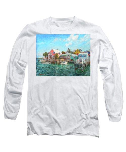 Hope Town By The Sea Long Sleeve T-Shirt
