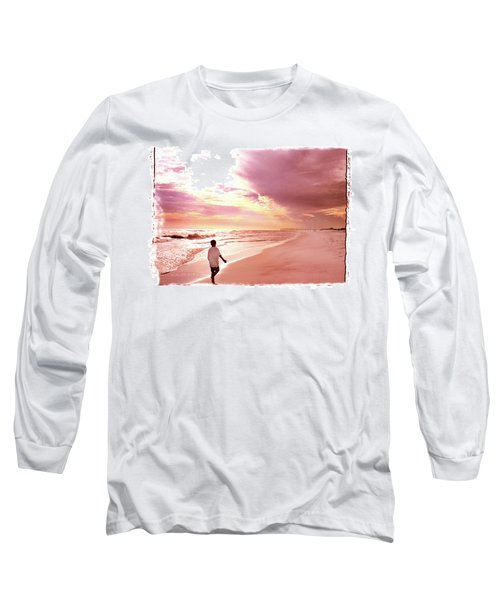 Hope's Horizon Long Sleeve T-Shirt by Marie Hicks