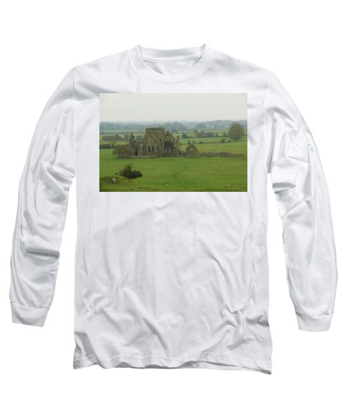 Long Sleeve T-Shirt featuring the photograph Hore Abbey by Marie Leslie