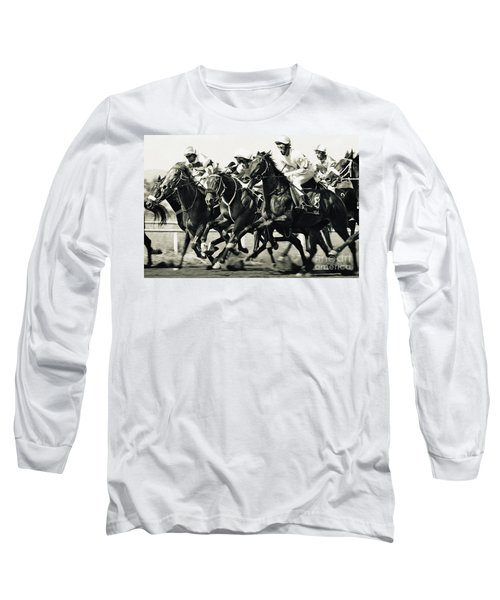 Horse Competition Vi - Horse Race Long Sleeve T-Shirt