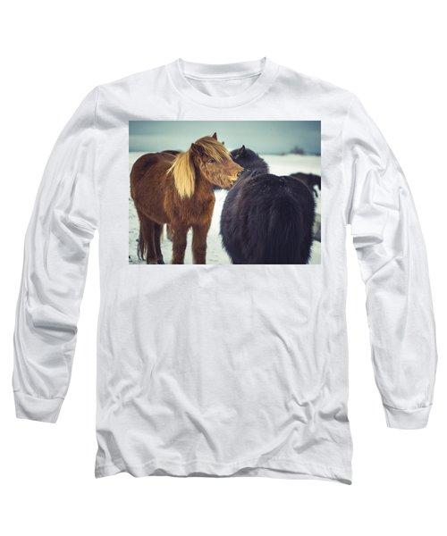 Horse Friends Forever Long Sleeve T-Shirt