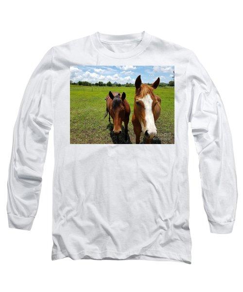 Horse Friendship Long Sleeve T-Shirt