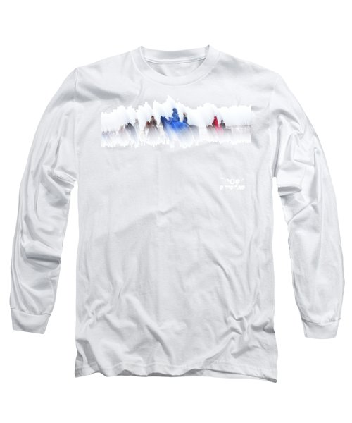 Horse Hunt #8017 Long Sleeve T-Shirt