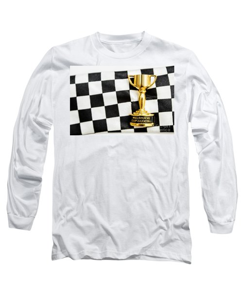 Horse Races Trophy. Melbourne Cup Win Long Sleeve T-Shirt