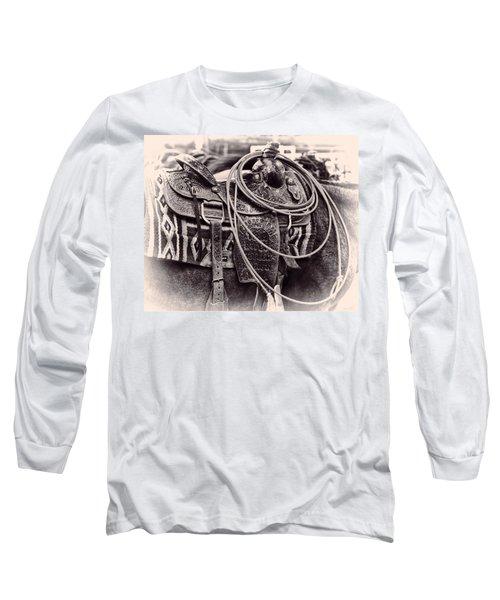Horse Saddle Long Sleeve T-Shirt