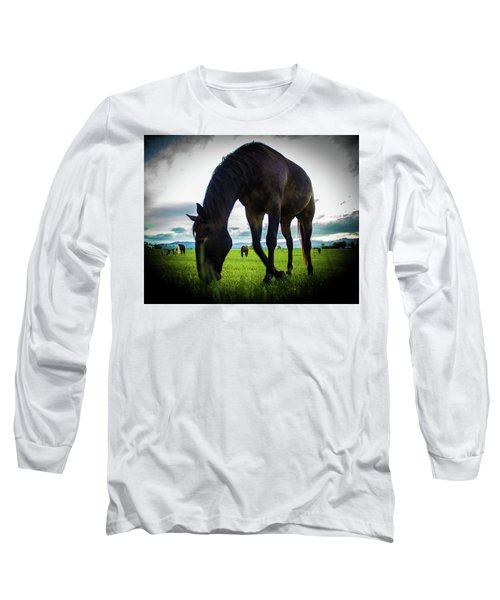 Horse Time Long Sleeve T-Shirt