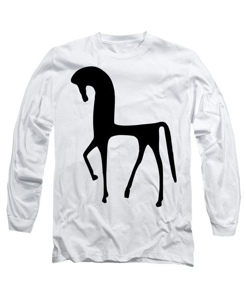 Horse Transparent Long Sleeve T-Shirt