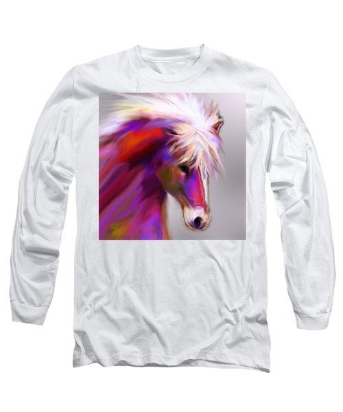 Horse True Colors Long Sleeve T-Shirt