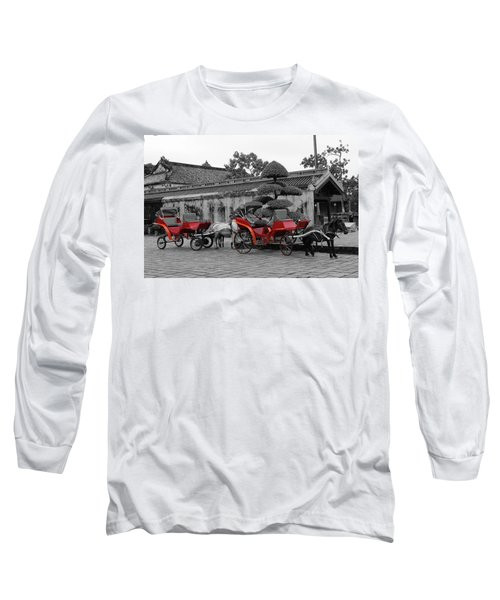 Horses And Carriages Long Sleeve T-Shirt