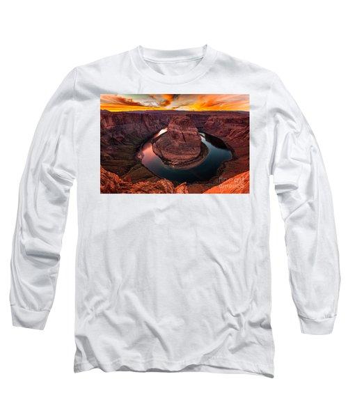 Horseshoe Bend, Colorado River, Page, Arizona  Long Sleeve T-Shirt