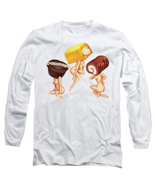 Hostess With The Most Tits Long Sleeve T-Shirt