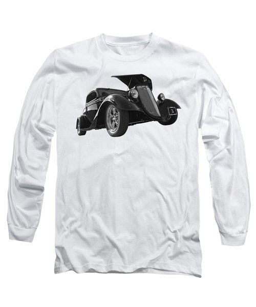 Hot '34 In Black And White Long Sleeve T-Shirt