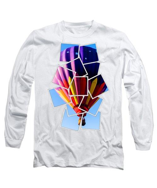 Hot Air Ballooning Tee Long Sleeve T-Shirt