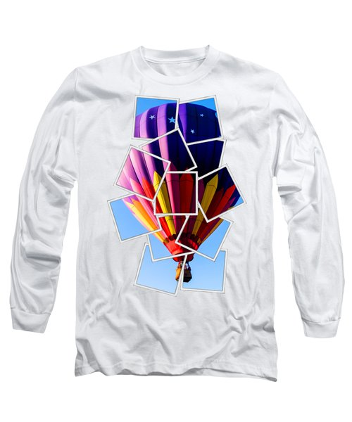 Hot Air Ballooning Tee Long Sleeve T-Shirt