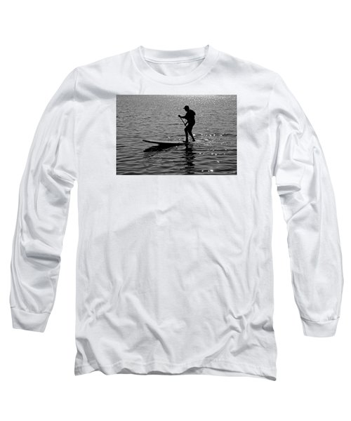Hot Moves On A Sup Long Sleeve T-Shirt
