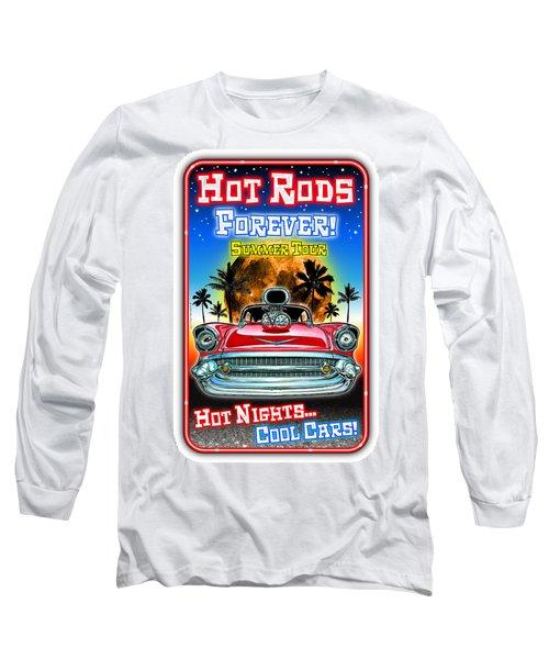 Hot Rods Forever Summer Tour Long Sleeve T-Shirt