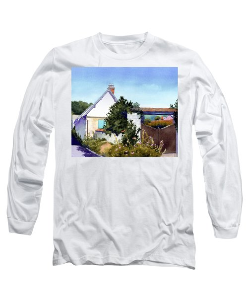 House At Giverny Long Sleeve T-Shirt