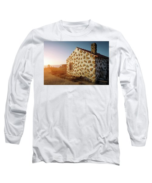 Long Sleeve T-Shirt featuring the photograph House On The Cliff by Carlos Caetano