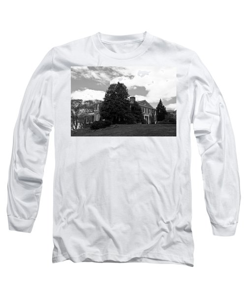 House On The Hill Long Sleeve T-Shirt by Jose Rojas