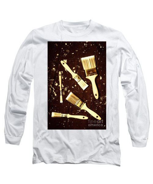 House Paint Abstract Long Sleeve T-Shirt