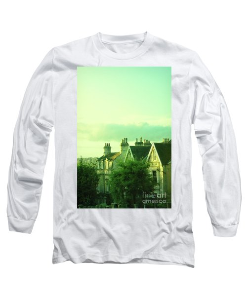Long Sleeve T-Shirt featuring the photograph Houses by Jill Battaglia