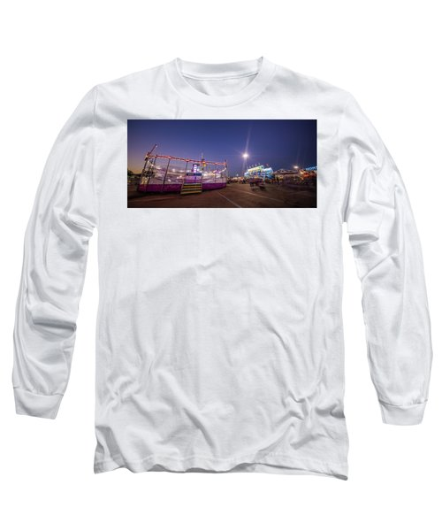 Houston Texas Live Stock Show And Rodeo #12 Long Sleeve T-Shirt by Micah Goff