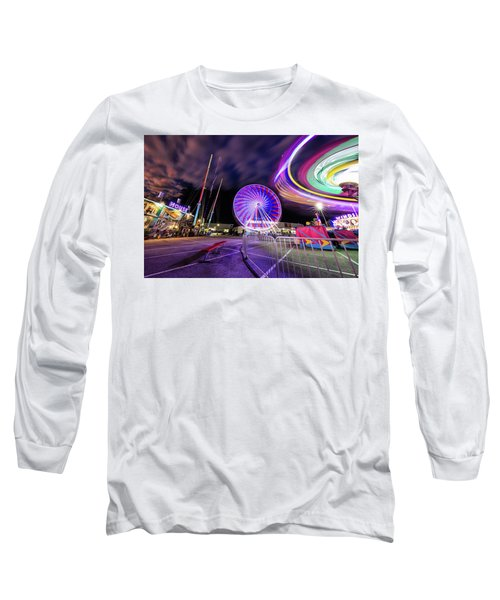 Houston Texas Live Stock Show And Rodeo #6 Long Sleeve T-Shirt by Micah Goff