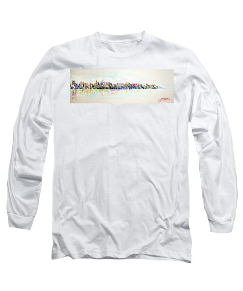 Hudson River View Long Sleeve T-Shirt