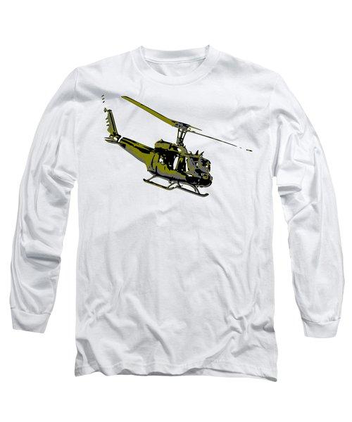 Huey Long Sleeve T-Shirt by Piotr Dulski