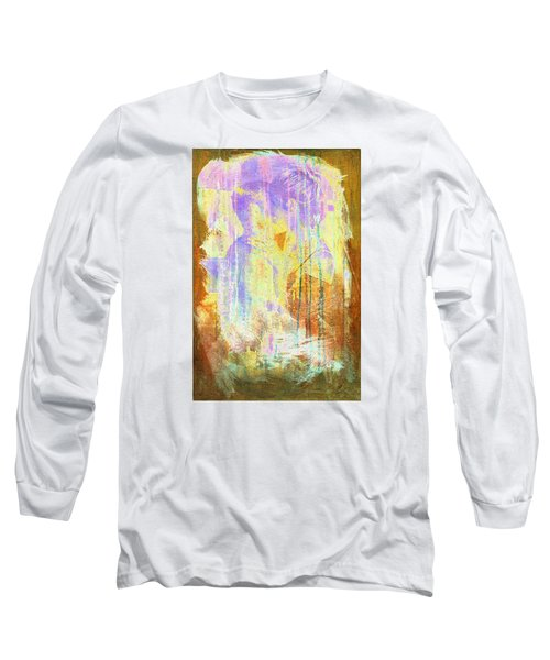 Long Sleeve T-Shirt featuring the digital art Hugging Canvas by Andrea Barbieri