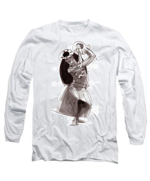 Hula Dancer Alika Long Sleeve T-Shirt