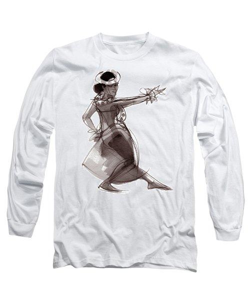 Hula Dancer Keala Long Sleeve T-Shirt