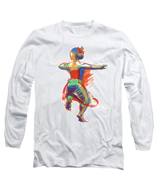 Hula Wahine Ikaika Long Sleeve T-Shirt