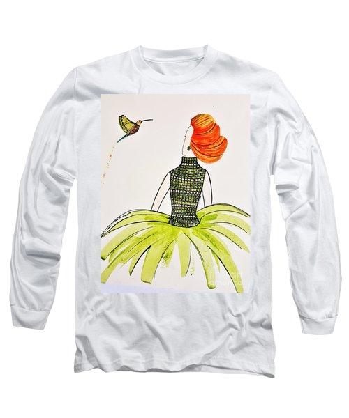 Hummingbird Admirer Long Sleeve T-Shirt